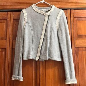 Grey cotton jacket